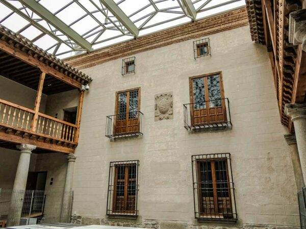 Palacio Caprotti o Superunda en Ávila