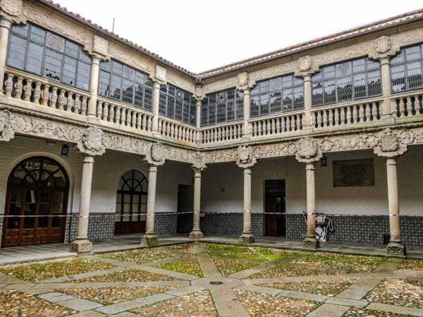 Palacio de Polentinos en Ávila