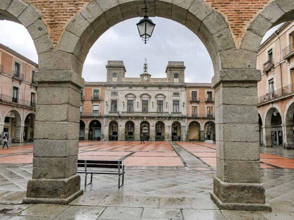 Plaza del Mercado Chico en Ávila