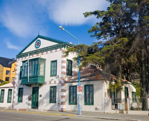 Rincón de Ushuaia al sur de Argentina