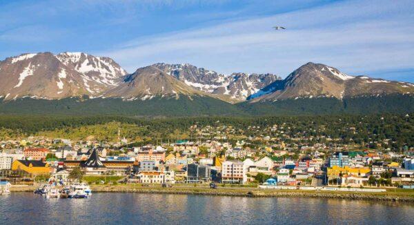 Ushuaia al sur de Argentina