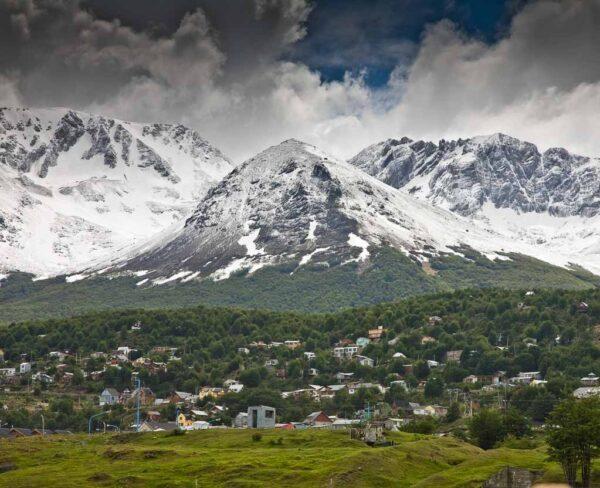 Paisajes en los alrededores de Ushuaia