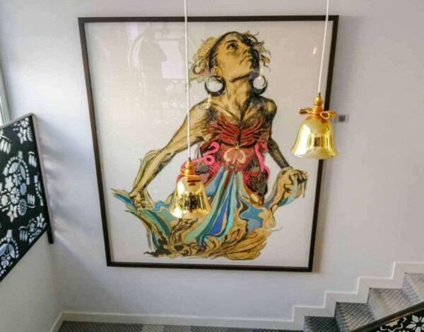 Arte en el hotel Iberostar Grand Portals Nous en Mallorca