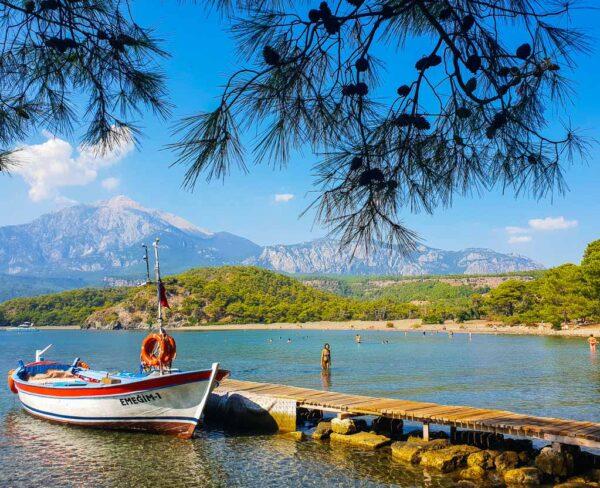 Phaselis en Riviera Turca de Turquía