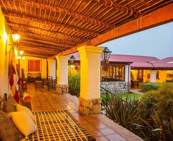 Hotel en Tafí del Valle cerca de Tucuman en Argentina