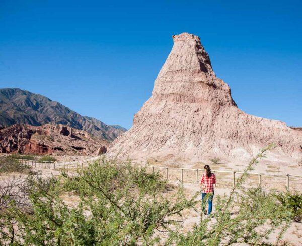 Paisajes en Valles Calchaquíes en Argentina