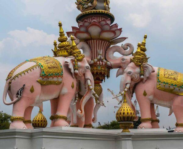 Monumento en Bangkok