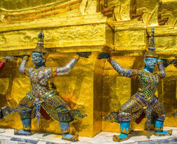 Templo Wat Pra Keo en Bangkok
