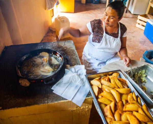 Cocina tradicional maya en Riviera Maya en México