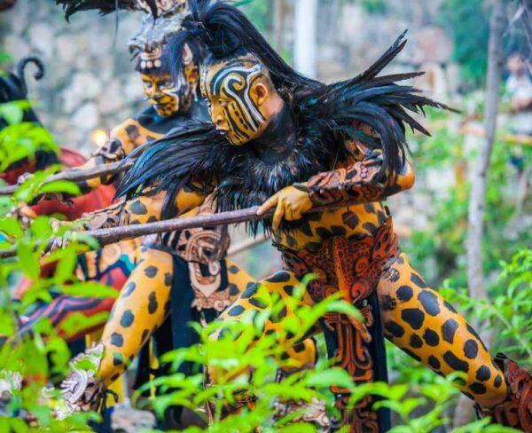 Parque temático Xcaret en Riviera Maya en México