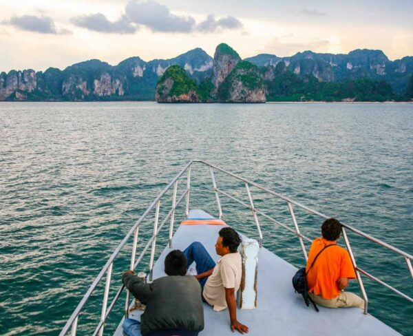 Paisajes en Railay al sur de Tailandia