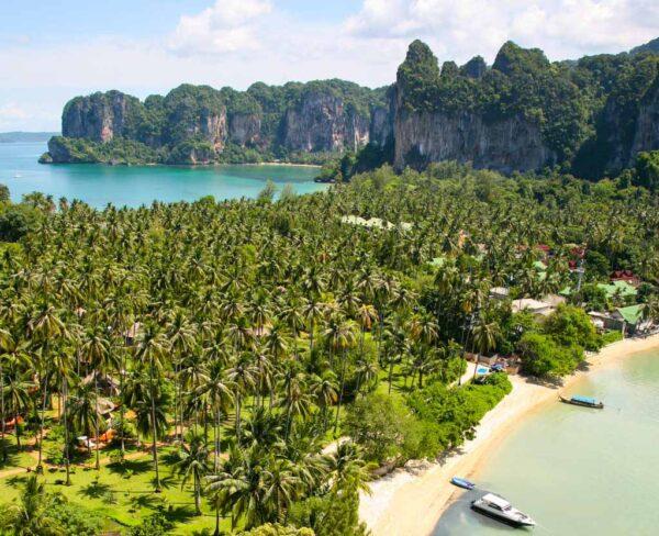 Playas de Railay al sur de Tailandia