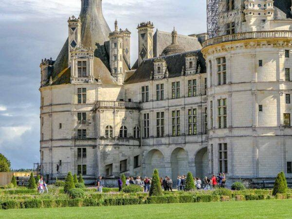 Chateau de Chambord en el Valle del Loira en Francia