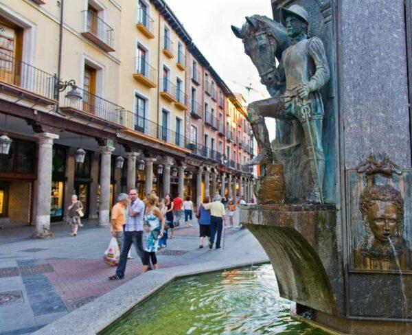 Fuente Dorada en Valladolid