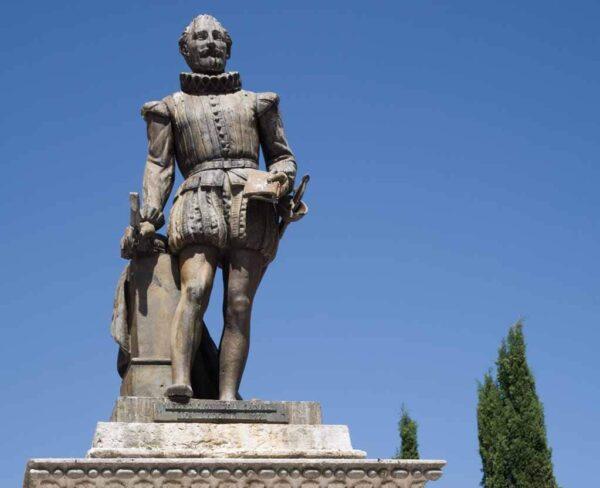 Monumento a Cervantes en Valladolid