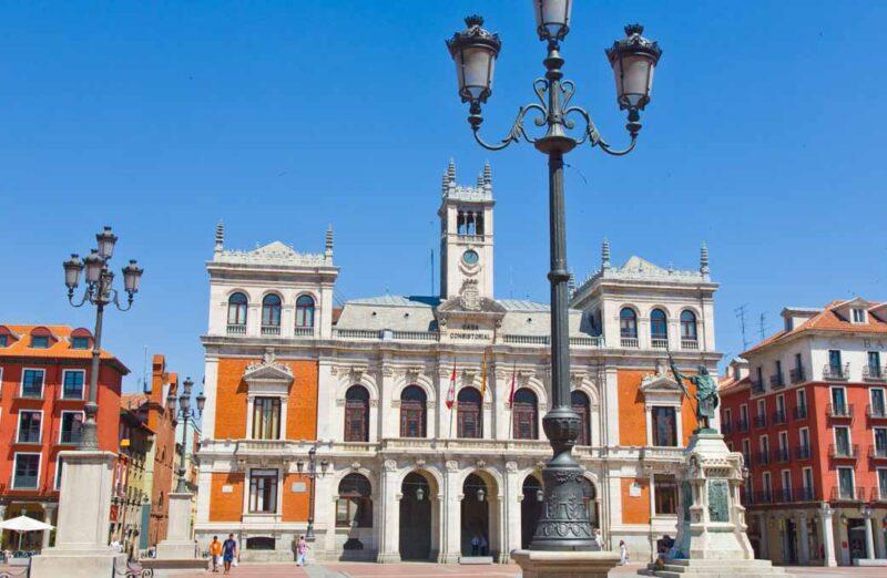 Casa Consistorial en la plaza Mayor de Valladolid