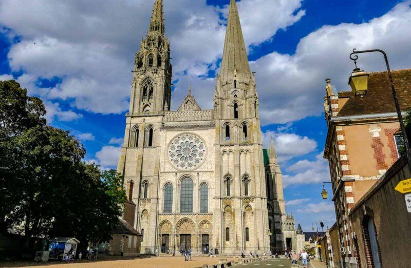 Catedral gótica de Chartres en Francia