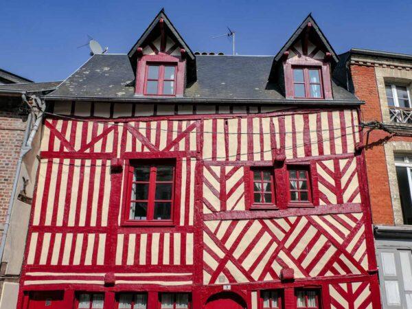 Rincón de Honfleur en Normandía