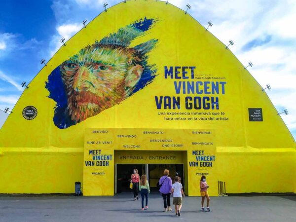 Exposición interactiva Meet Vincent Van Gogh en Madrid