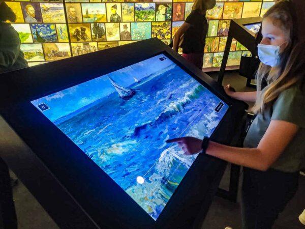 Exposición interactiva Meet Vincent Van Gogh